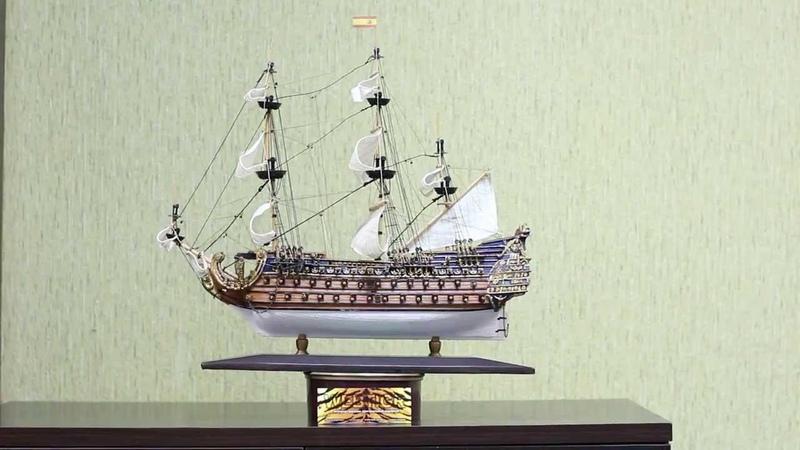 Модель корабля Le Soleil Royal (Король Солнце) 40см