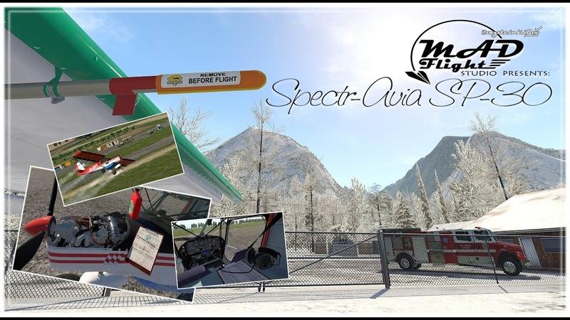 Spectr-Avia SP-30 by Mad Flight Studio [X-Plane 11]
