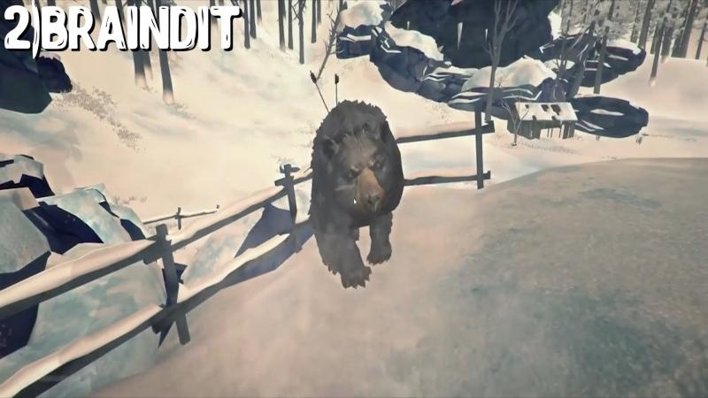 Реакция Летсплейщиков на Появление Медведя у Дома при Прохождении Игры The Long Dark - Story Mode_0001