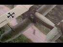 Гибель империи (2005). Авиаудар немецкого биплана по русским войскам