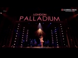 Lea Michele performs «Anythings Possible» on Tonight at the London Palladium
