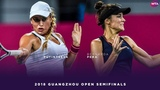 Yulia Putintseva vs. Bernardo Pera | 2018 Guangzhou Open Semifinals | WTA Highlights