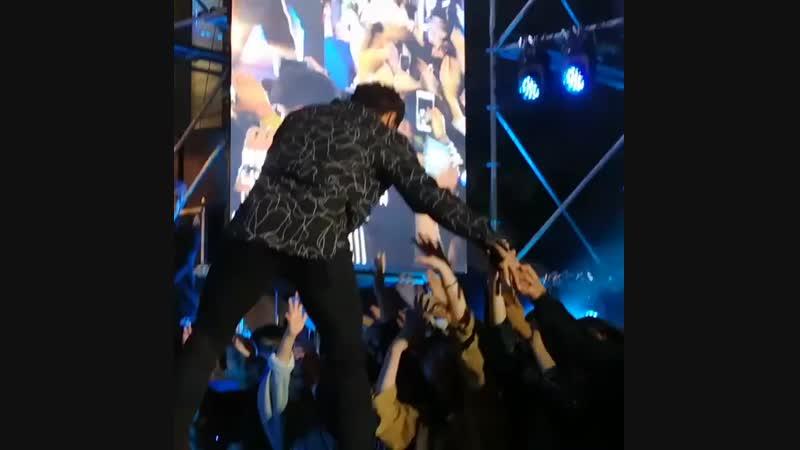Ким Джон Кук. Концерт Romantic Party в Пхохане.(13.10.2018)