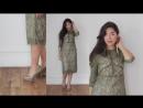 Платье Милица из весенней коллекции Флюиды 2018