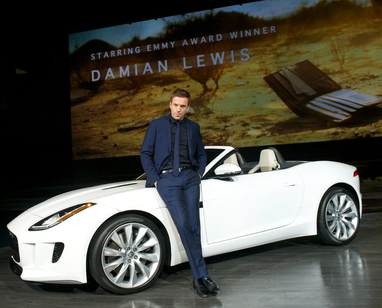 Jaguar F-type Damian Lewis