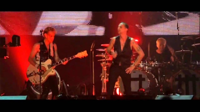 DEPECHE MODE Never let me down again Live HD HQ EdduSounds Bs As