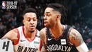 Portland Trail Blazers vs Brooklyn Nets - Full Highlights   February 21, 2019   2018-19 NBA Season