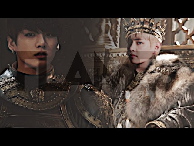 Taekook ● flames [royalty au]