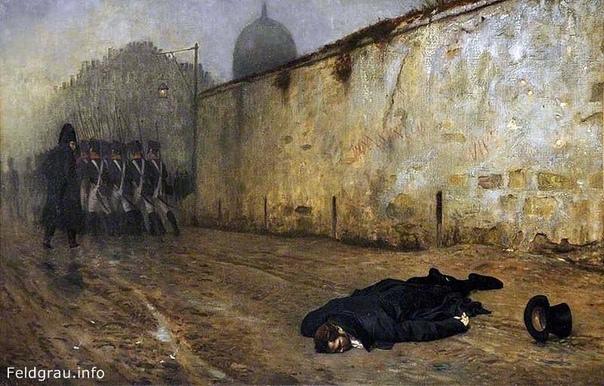 Сюжет картины. Сюжет этой работы Жан-Леон Жером взял из реальной жизни. Это была казнь легендарной исторической личности Мише́ля Нея (17691815) одного из наиболее известных маршалов Франции