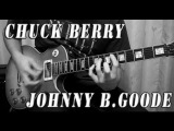 Chuck Berry Johnny B Goode - Full Cover and Lesson with Tabs