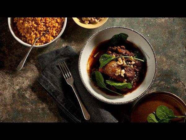 Lamb shank testi kebab Turkish Cuisine