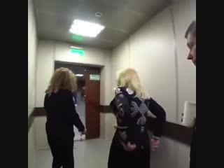 Алла Пугачева и Ирина Аллегрова - Закулисье съемок шоу