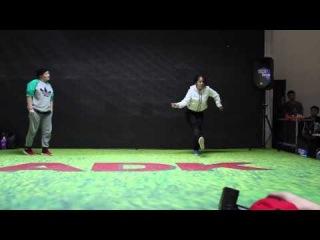 Autumn Funky Summit - 1/4 Hip-Hop Battle - Aselka vs ZuZu