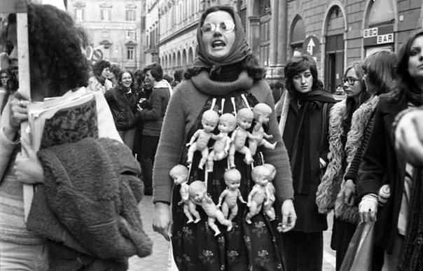 Митинг за легализацию абортов.