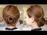 Sophisticated Twisting Bun Hair Tutorial