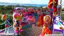 Обзор на 2 minis Rainbow Dash и Rarity Beach и на 2 пони Twilight Sparkle Seapony и Applejack⚡D.K ;)