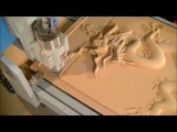 21 6090  CNC Router and The BIG 3D Dragon