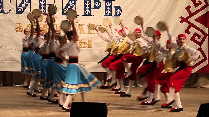 Сибирь зажигает звёзды Итальянский танец Тарантелла