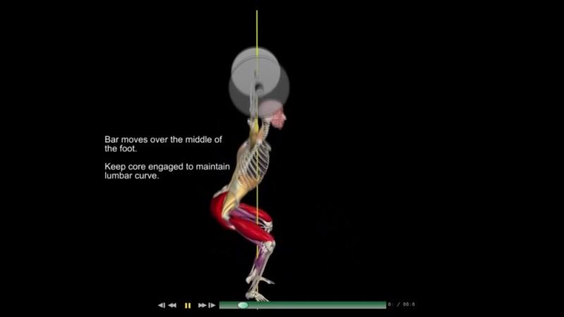 Приседания со штангой над головой (Overhead squat)