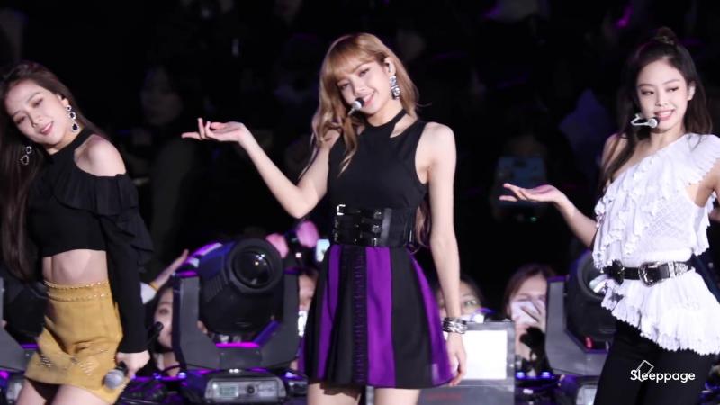 [Фокус на Лису] Выступление BLACKPINK - FOREVER YOUNG на концерте «SBS Super Concert».