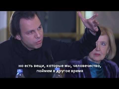 Теодор Курентзис об электричестве и тишине