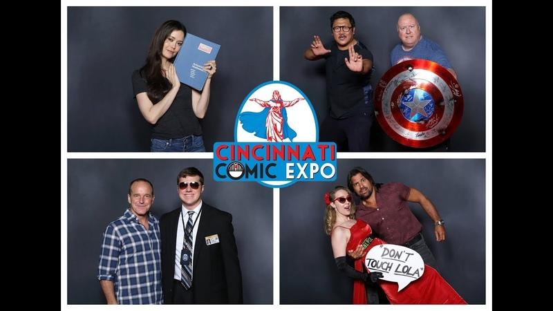 Cincinnati Comic Expo 2018 Photo Ops highlights SummerGlau СаммерГлау
