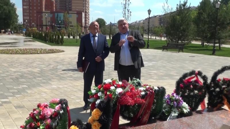 г.о.Лосино-Петровский посетил депутат Иван Жуков