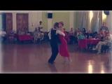 Танго-канженге. Aleksey Barbolin &amp Helga Domashova Crim 2018