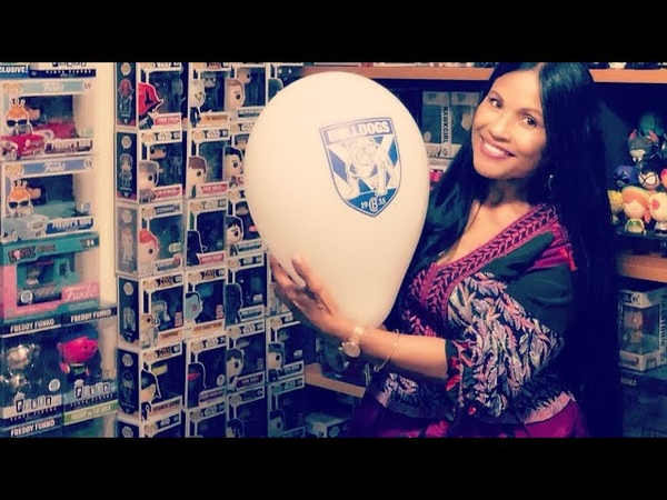 Yellow and White NRL Balloons 🎈 Balloons and Funko Pop Vinyl Collection | Sydney | Australia