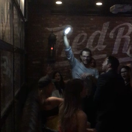 "Pete Tsopeis on Instagram Killing it at the supernatural season 13 wrap party"""