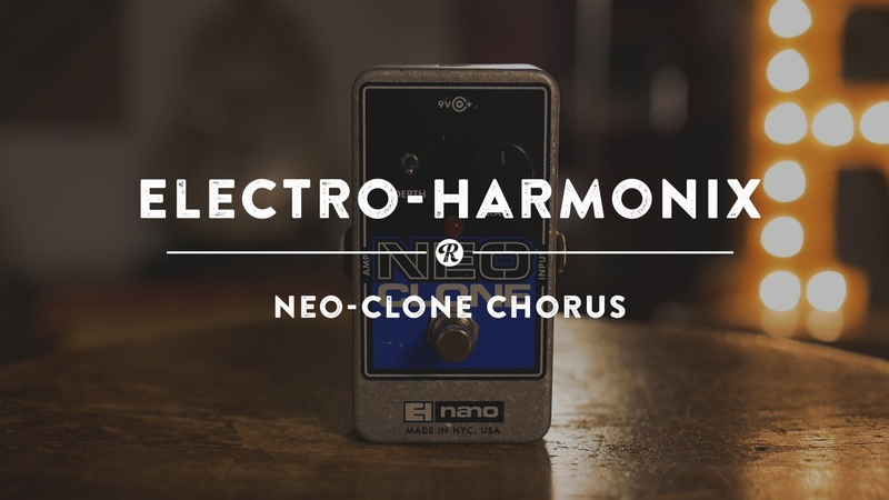 Electro-Harmonix Neo-Clone Chorus | Reverb Demo Video