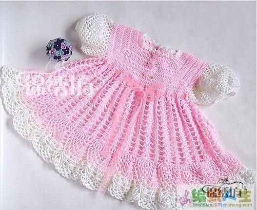 Мастер-класс подробный для вязания платьев для малышек… (9 фото) - картинка