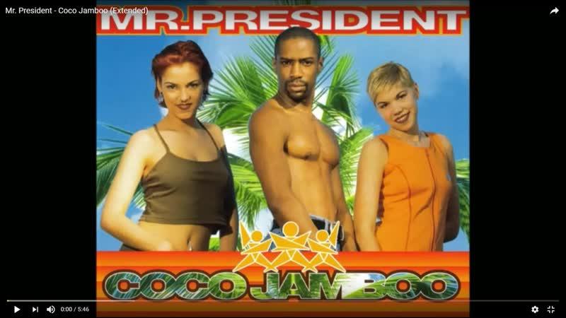Mr. President - Coco Jamboo (Swiftness 01.25 Version Edit.) (Extended Edit.) By Warner Bros Records INC. LTD.