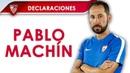 Machín: El equipo lo ha puesto todo sobre el campo