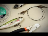Making Pike Lure Leaders (Traces) with crimps