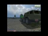 Скачать бесплатно Мод военного грузовика МАЗ-7310 «Ураган» для игры  Farming Simulator 2013