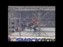MNM Vs Batista Rey Mysterio - WWE Tag Team Championships - Tag Team Steel Cage Match - SmackDown 06.01.2006