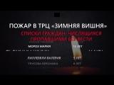 Дни траура в России списки погибших и пропавших без вести