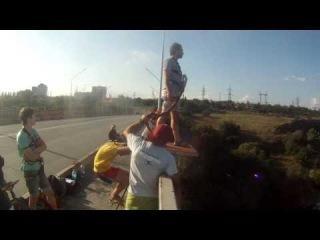 Прыжки с Арочного моста в Запорожье с EA team - 11 июля 2014, 42 метра