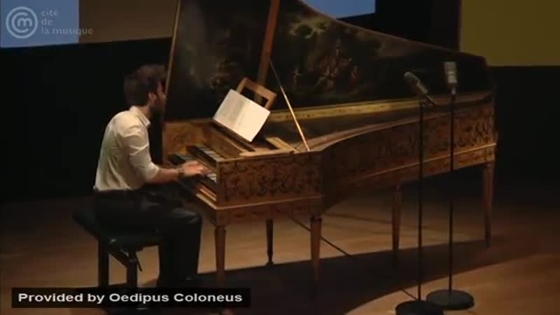 Bach_ Fugue for harpsichord in A minor, BWV 958 _ Jean Rondeau