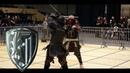 Knights fight with long sword - Jakub Buzak vs Łukasz Stecko [27 Jaworzno 2015 ]