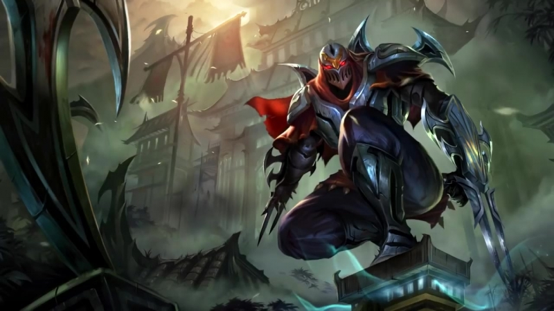 Zed, the Master of Shadows _ Login Screen - League of Legends