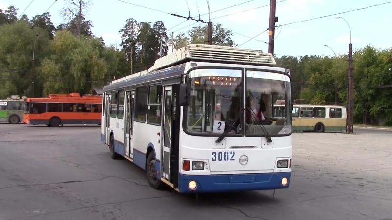 Обзор троллейбуса ЛиАЗ-52803 (ВЗТМ) (город Тольятти)