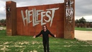 Inspecting Hellfest grounds