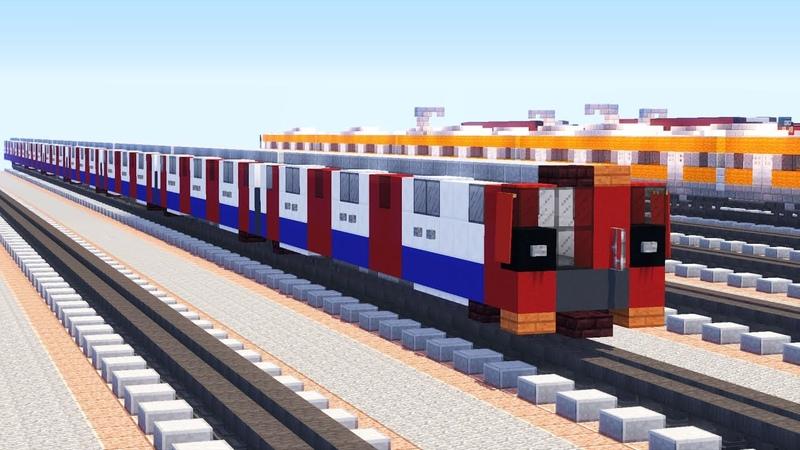 Minecraft London Underground Tube 2009 Stock Tutorial
