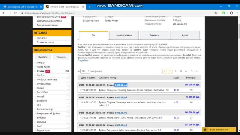 Отчет платной информации 17 10 18 Футбол Венесуэла Примера дивизион Сулия Каракас Счет матча 2 3