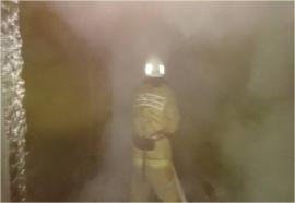 В Селижаровском районе сгорела баня