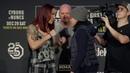 UFC 232 Cris Cyborg vs Amanda Nunes Staredown MMA Fighting