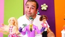 Barbie ve Joker Kadir'in oyuncak kafesine iş alanına geliyorlar