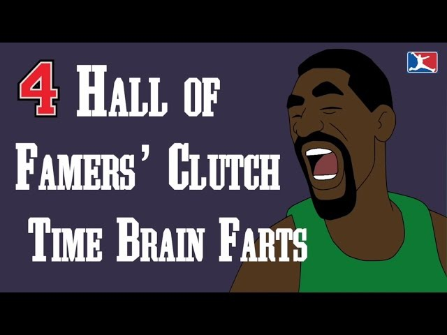 4 Hall of Famers' Clutch Time Brain Farts